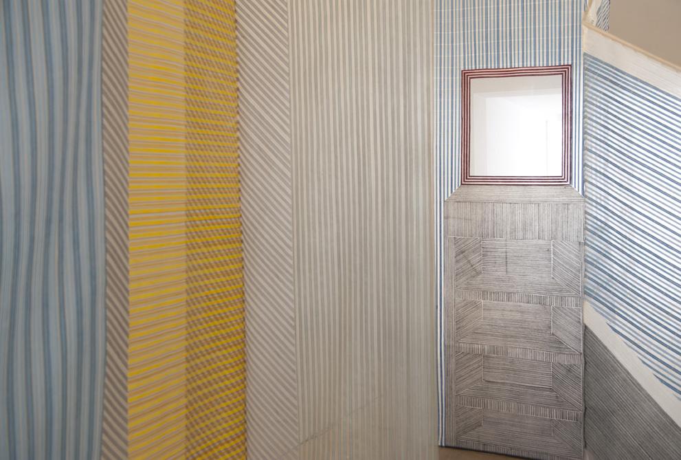 // weis preijde woven room via @imrevolting